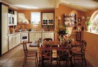 Kuchnia, aranżacja w stylu tradycyjnym